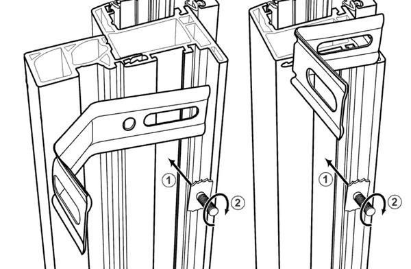poser une fenetre en applique gardecorps panneau de verre pose en applique with poser une. Black Bedroom Furniture Sets. Home Design Ideas